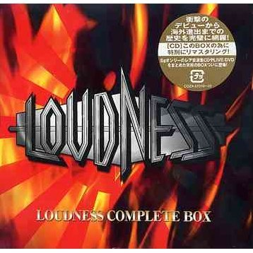 Loudness 25th Anniversary Box [11CD+2DVD Limited Edition]