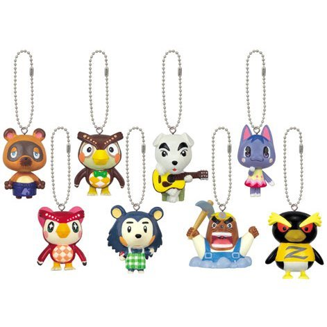 Banpresto Animal Crossing Character Keychain (Theater Version)