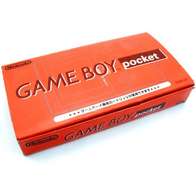 Game Boy Pocket Console - red