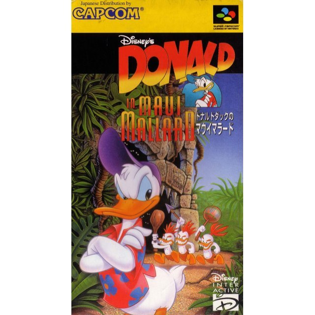 Donald Duck: Maui Mallard in Cold Shadow