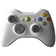Microsoft Xbox360 Wireless Controller for Windows (White)