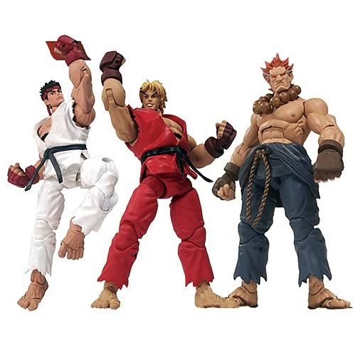 street fighter action figure sota