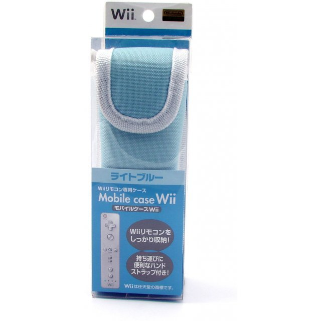Wii Remote Control Mobile Case (light blue)