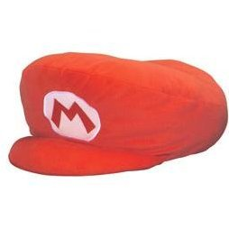 New Super Mario Bros. Hat Cushion: Mario