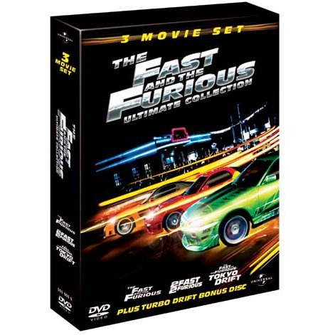 3 Movie Set: The Fast And The Furious Ultimate Collection [Limited Edition]