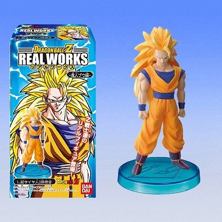 Dragon Ball Z Real Works Candy Toy