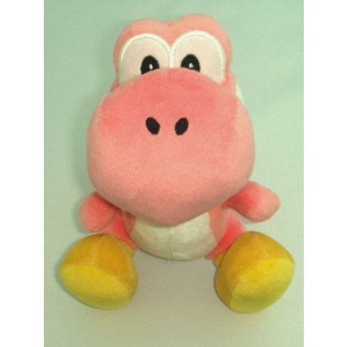 Yoshi Island Colorful Stuffed Toy (Pink)