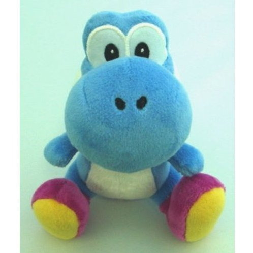 Yoshi Island Colorful Stuffed Toy Blue