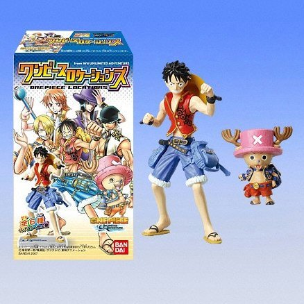 One Piece Unlimited Adventure Locations Candy Toy