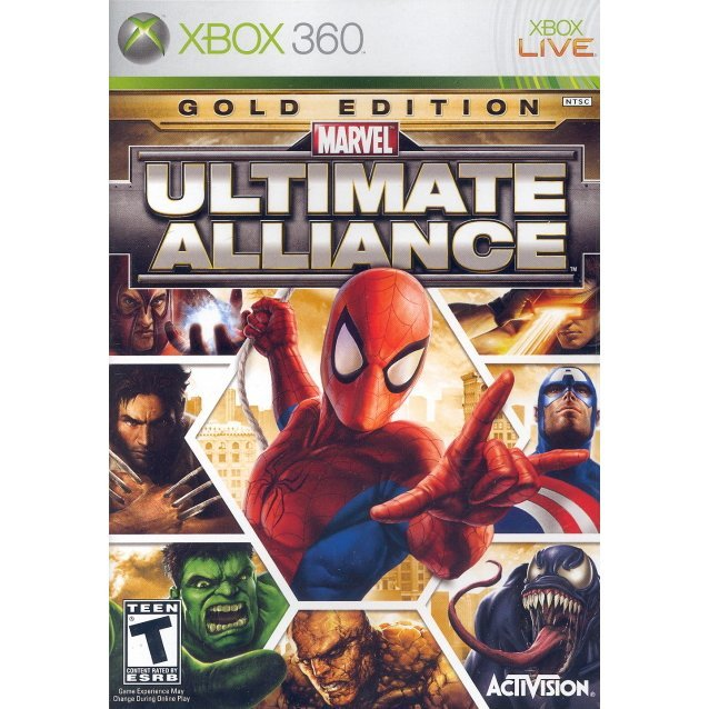 Marvel: Ultimate Alliance (Gold Edition)