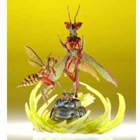 Final Fantasy Master Creatures: The Magus Sisters from Final Fantasy X (Non Scale Pre-Painted Action Figure)