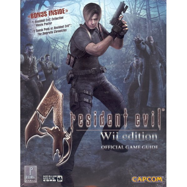 Resident Evil 4: Prima Official Game Guide (Wii version)