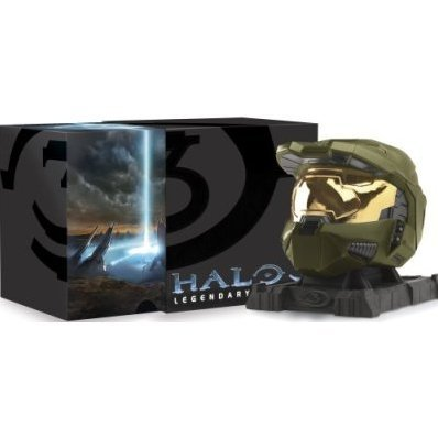 Halo 3 Legendary Edition with Halo Spartan Mjolnir Mark VI Helmet!
