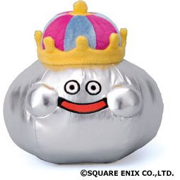 Dragon Quest Smile Slime Plush Doll Medium: King Slime