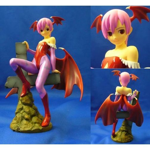 Vampire Saviour: Lilith 1/8 Scale Prepainted PVC Figure (Regular)