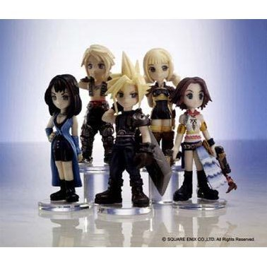 Final Fantasy Miniature Trading Figures Vol. 1