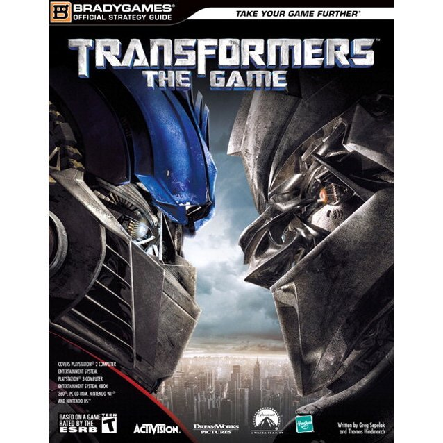 Transformers: The Game Official Strategy Guide