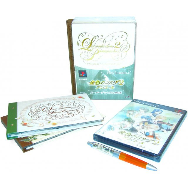 Kiniro no Corda 2 Anchor [Super Premium Box]
