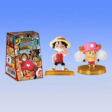 One Piece Luffys Family 8 Candy Toy
