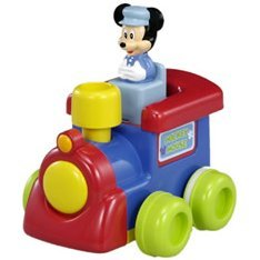 Mickey Mouse Push and Go Train
