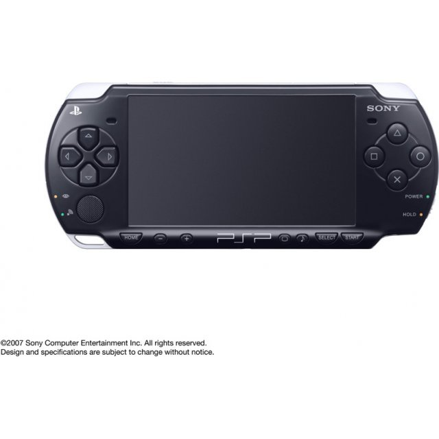 PSP PlayStation Portable Slim & Lite - Piano Black (PSP-2000PB)