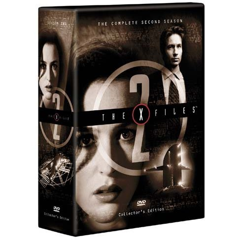 X-Files The Second Season DVD Box