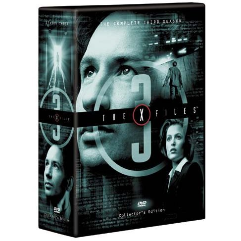 X-Files The Third Season DVD Box