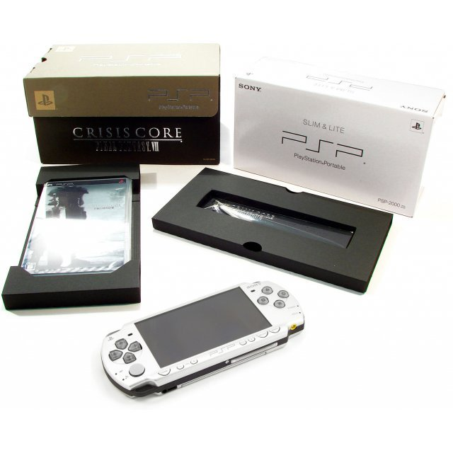 Final fantasy vii crisis core 10th anniversary limited edition psp.