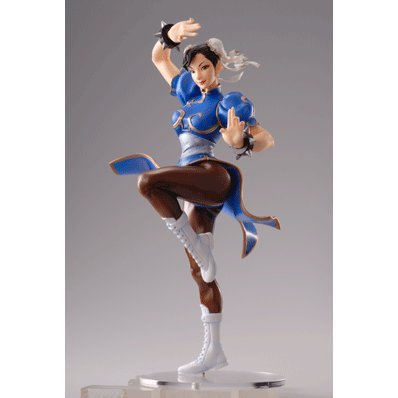 Street Fighter II Pre-painted PVC Figure - Chun-Li