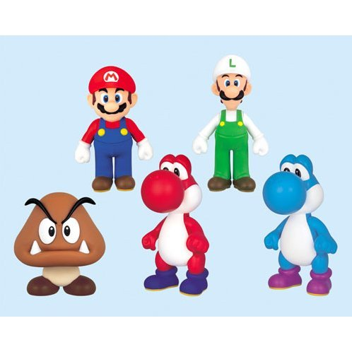 nintendo prize collection series super mario characters figure in