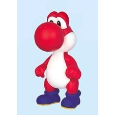 Nintendo Prize Collection Series Super Mario Characters Figure In Blister 2: Yoshi (Red Version)