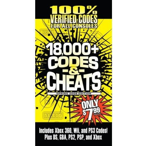 Codes & Cheats Spring 2008: Prima Games Code Book
