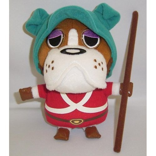 Animal Crossing Stuffed Plush Doll: Bulldog (Officer B)