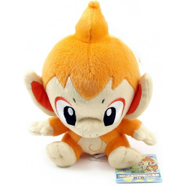 Pocket Monster Diamond & Pearl Assorted Plush Doll: Hikozaru