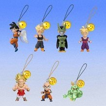 Dragon Ball Z DB Character Phone Strap 4 Gashapon