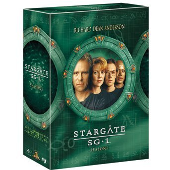 Stargate Sg-1 Season3 DVD The Complete Box 10th Anniversary