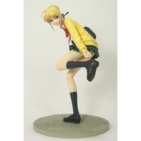 Fate/Hollow Ataraxia 1/8 Scale Pre-painted PVC Figure - Saber (High School Uniform Ver.)