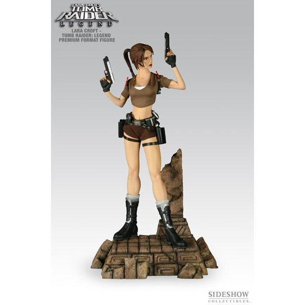 Tomb Raider Legend: Lara Croft Premium Format 1/4 Scale Polystone Figure