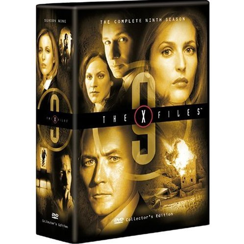 The X-Files: The Ninth Season DVD Box