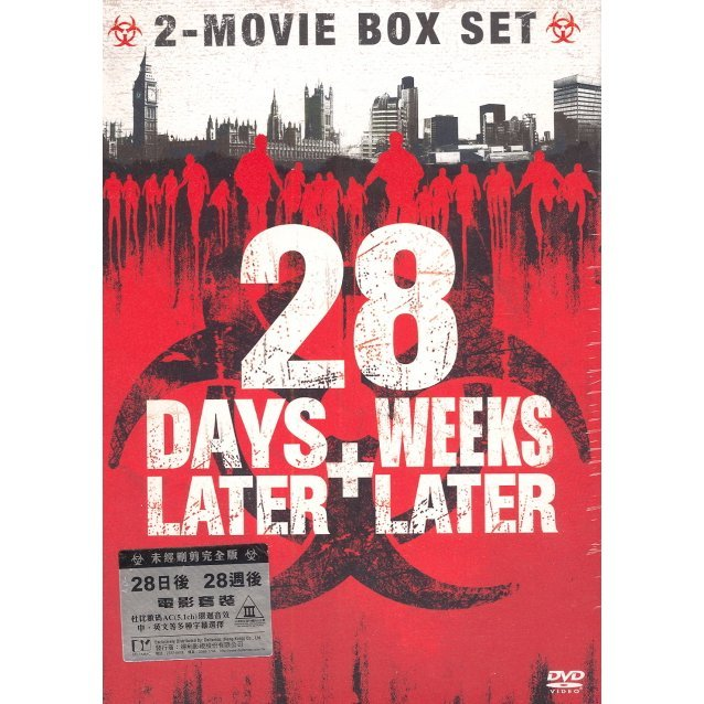 28 Days Later + 28 Weeks Later [2-Discs Boxset]