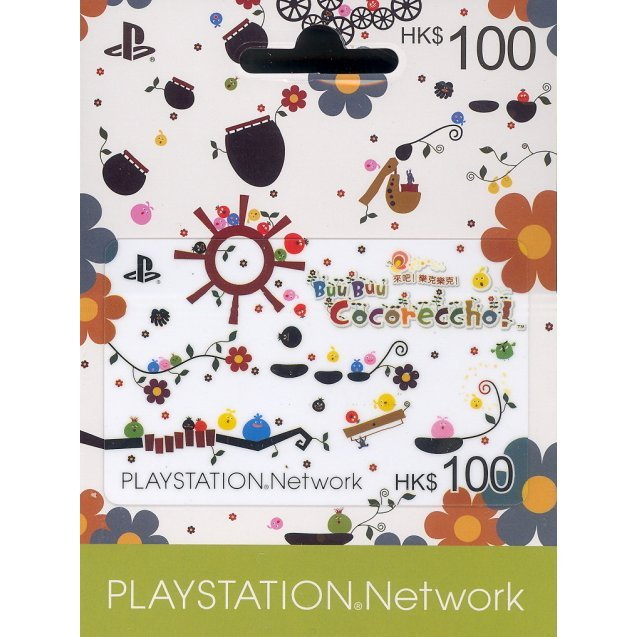 PlayStation Network Card / Ticket -LOCOROCO- (100 HKD / for Hong Kong network only)