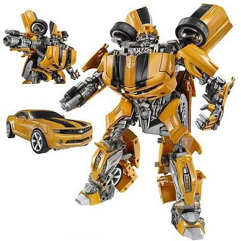 Ultimate Transformers Pre-Painted PVC Figure: Bumblebee