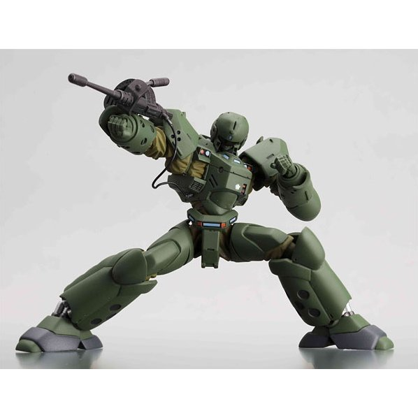Revoltech Series No. 040 - The Moblie Police Patlabor Non Scale Pre-Painted PVC Figure: Helldiver (Green)