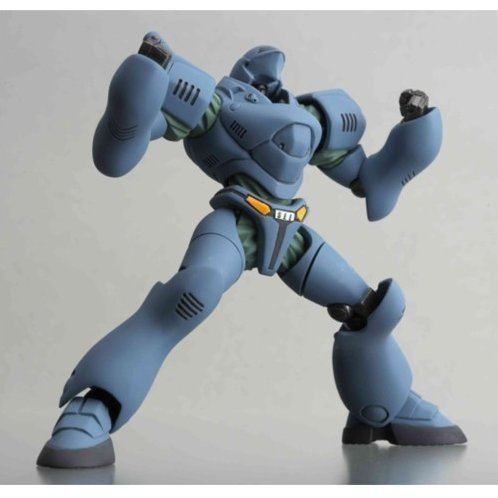 Revoltech Series No. 041 - The Moblie Police Patlabor Non Scale Pre-Painted PVC Figure: Helldiver (Blue)