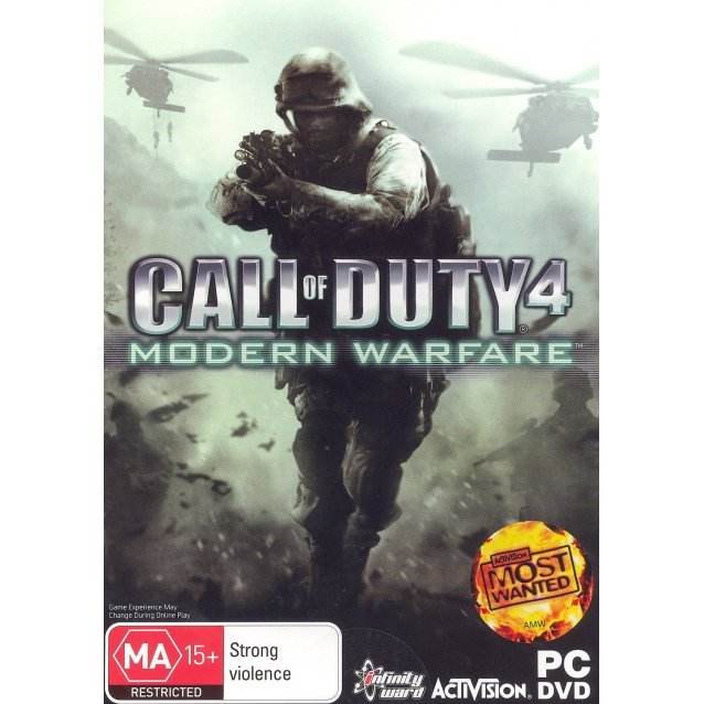 Call of Duty 4: Modern Warfare (DVD-ROM)