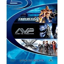 Fantastic Four + X-Men: The Last Stand + Alien Vs. Predator Blu-ray Disc Starter Box