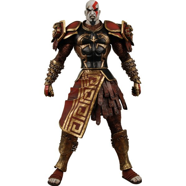 God of War Action Figure 7'': Kratos Ares Armor (open mouth vers.)