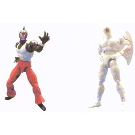 Microman action series Kinnikuman Pre-Painted Figure: MK-S05 Kinnikuman & Great Pentagon