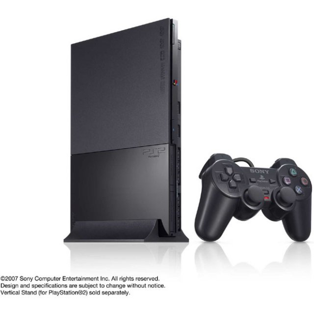 PlayStation2 Console Charcoal Black (SCPH-90000CB)