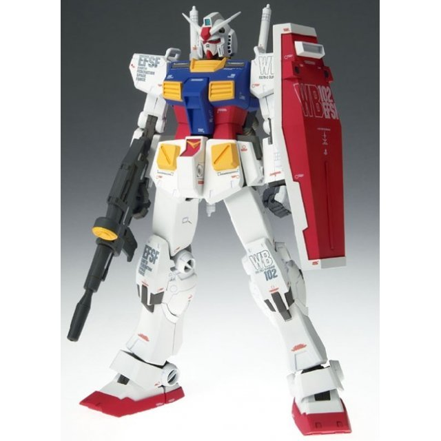 Gundam Fix Figuration Metal Composite 1/100 Scale Pre-Painted Figure: #1001 Gundam Ver.Ka with G-Fighter